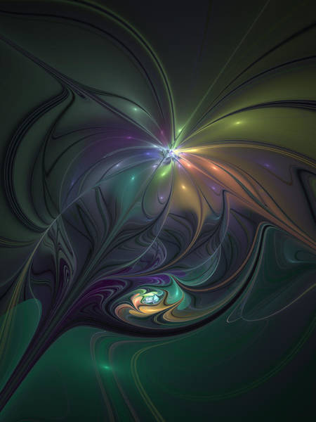 Phantasy Digital Art - Delightful Fantasy by Gabiw Art