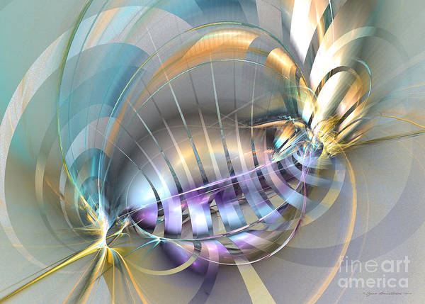 Digital Art - Delightful Tone - Abstract Art by Sipo Liimatainen