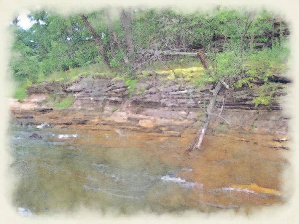 Photograph - Dells Creekside by Paulette B Wright
