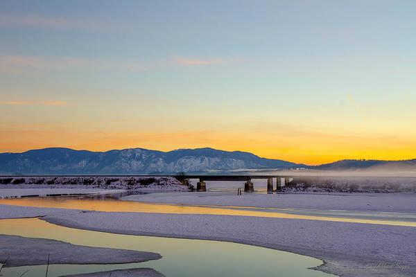 Photograph - Delta Sunset  -  150125a-301 by Albert Seger