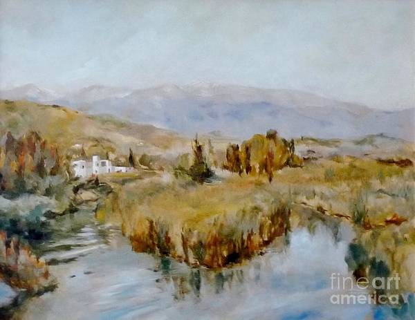 Painting - Delta In Georgioupolis by Karina Plachetka