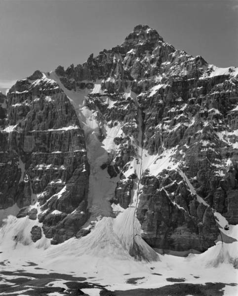 Photograph - 1m3422-bw-deltaform Mountain by Ed  Cooper Photography