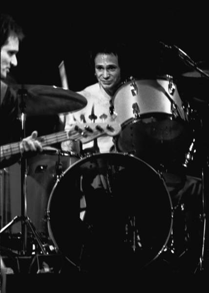Photograph - Denny Carmasi On The Drums In 1978 by Ben Upham