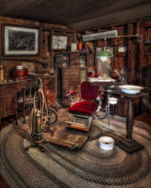Photograph - Dentist Office by Susan Candelario