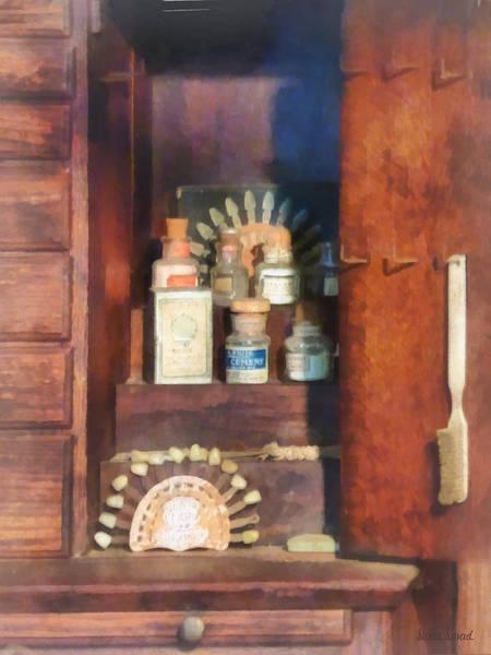 Photograph - Dentist - Supplies For Making Dentures by Susan Savad