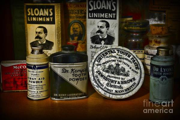 Lyons Wall Art - Photograph - Dentist - Tooth Powder And More by Paul Ward