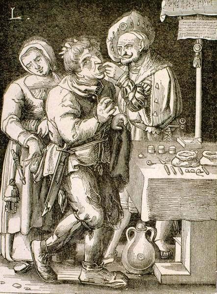 Dentistry Wall Art - Photograph - Dentistry In 17th Century France by Universal History Archive/uig