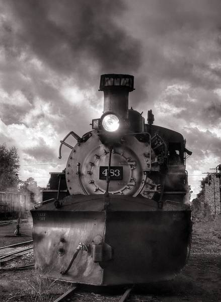 Wall Art - Photograph - Denver And Rio Grande Western 483 Under Steam by Ken Smith