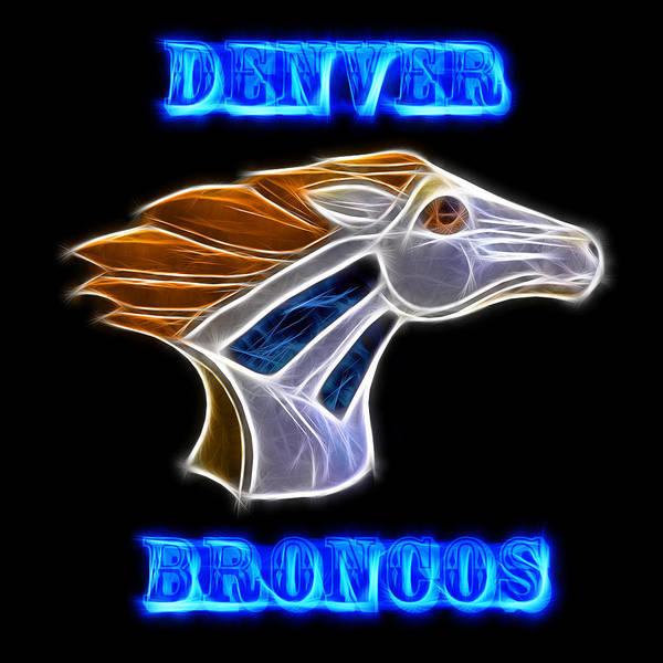 Photograph - Denver Broncos 2 by Shane Bechler