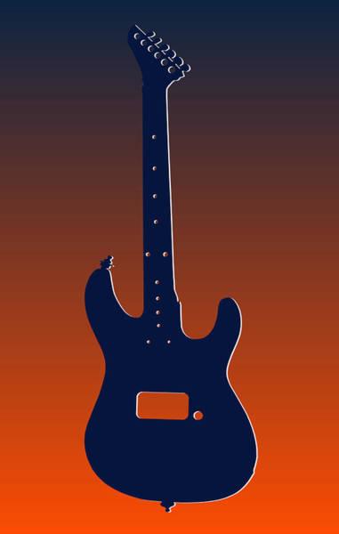 Bass Player Wall Art - Photograph - Denver Broncos Guitar by Joe Hamilton