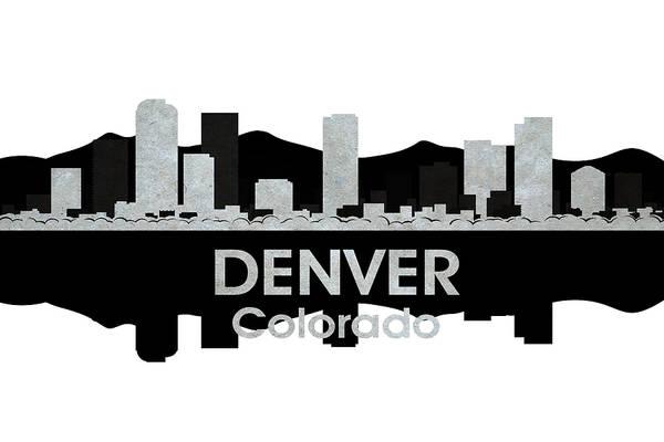 Digital Art - Denver Co 4 by Angelina Tamez