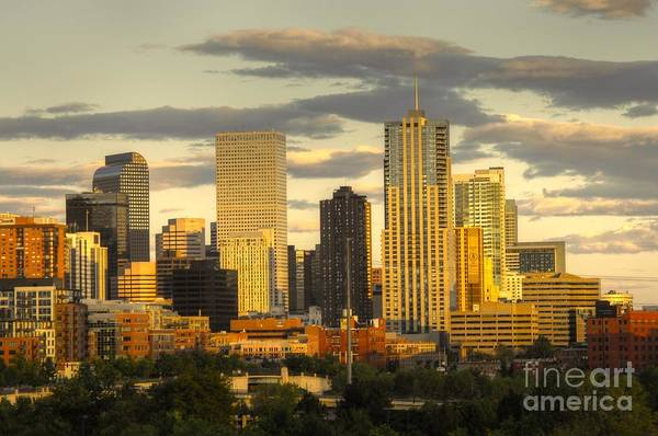 Photograph - Denver Colorado by Anthony Wilkening