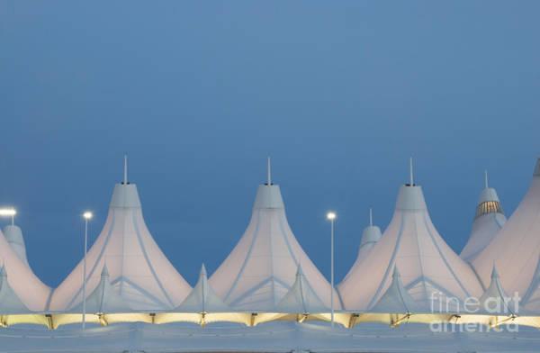 Photograph - Denver International Airport At Dusk by Juli Scalzi