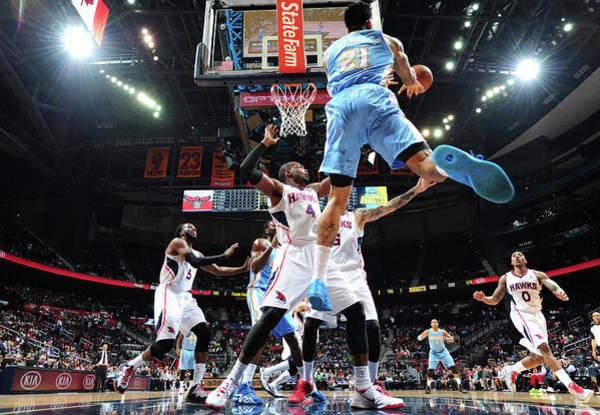 Atlanta Photograph - Denver Nuggets V Atlanta Hawks by Scott Cunningham