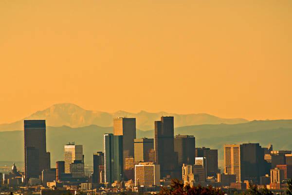 Photograph - Denver Skyline by Colleen Coccia
