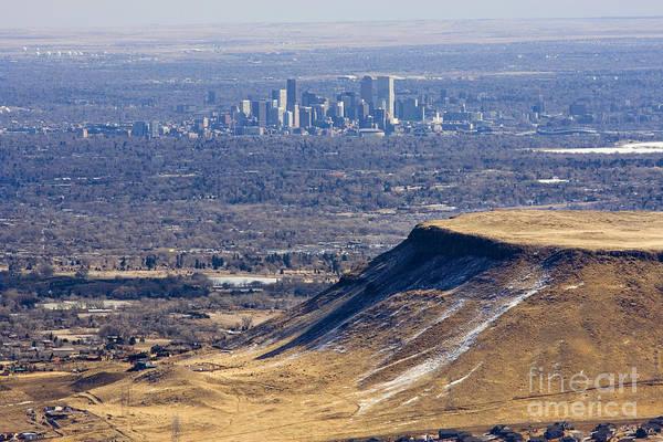 Photograph - Denver Skyline by Steve Krull