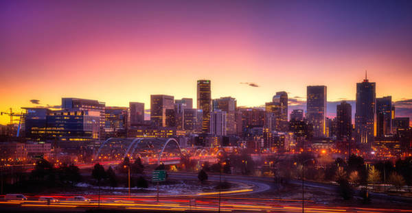 Photograph - Denver Sunrise by Darren  White