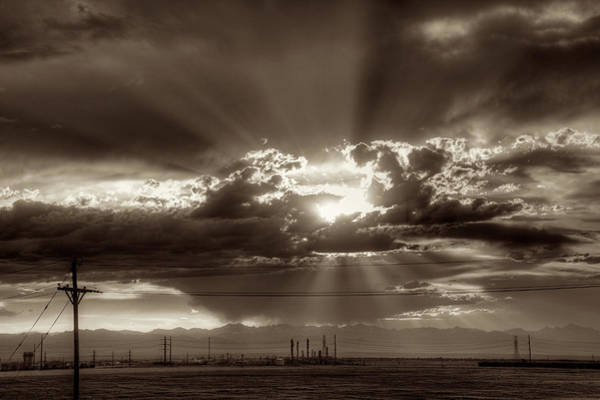 Wall Art - Photograph - Denver Sunset by William Wetmore