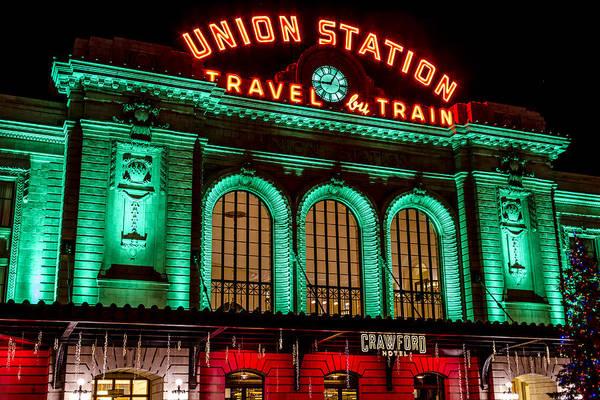 Photograph - Denver's Union Station by Teri Virbickis