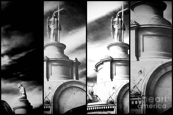 Photograph - Departed In New Orleans Panels by John Rizzuto
