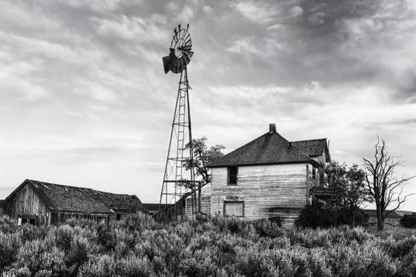 Sagebrush Photograph - Departed by Mark Kiver