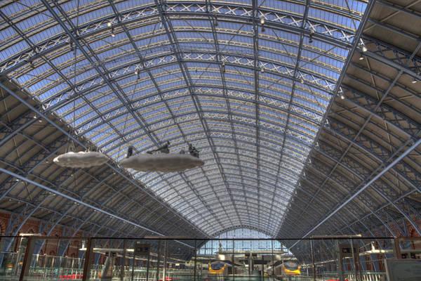 Railway Station Photograph - Departure by Nigel Jones