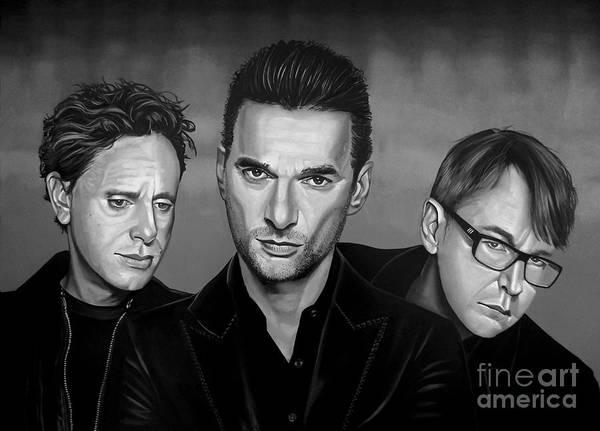 Hero Mixed Media - Depeche Mode by Meijering Manupix