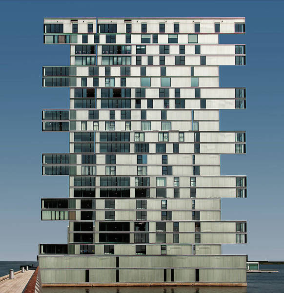 Block Photograph - Deploying Almere. by Henk Van Maastricht