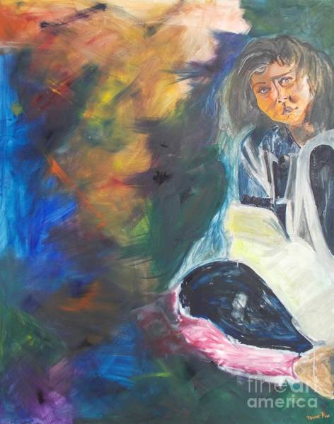Desolation Painting - Depression by PainterArtist FIN
