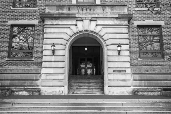 Ohio State University Photograph - Derby Hall Osu Entrance  by John McGraw