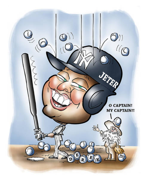 Derek Jeter Art Print