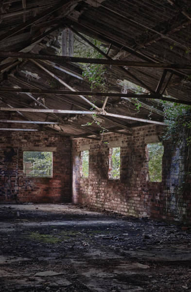 Derelict Wall Art - Photograph - Derelict Building by Amanda Elwell
