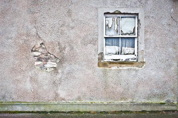 Old Wall Art - Photograph - Derelict Window by Tom Gowanlock