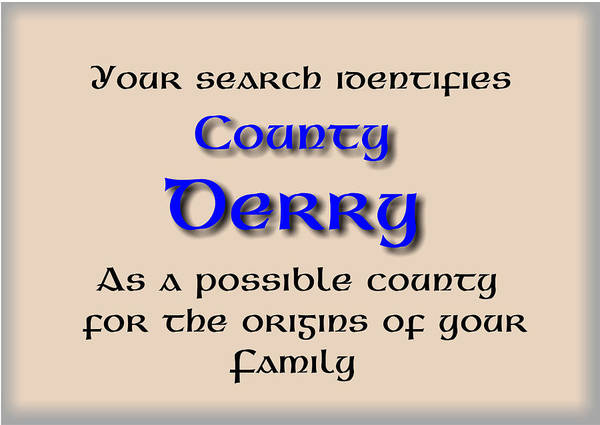 Mixed Media - Derry Ancestry by Val Byrne