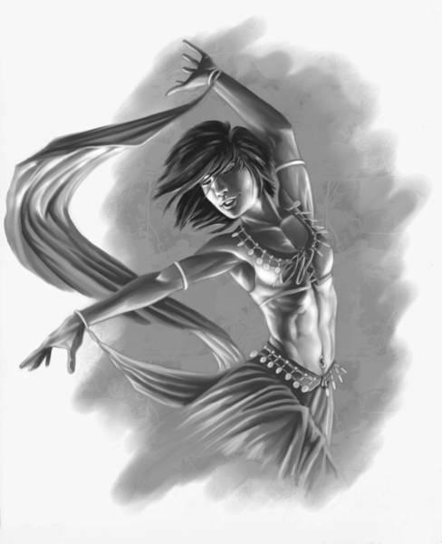 Belly Dancing Wall Art - Digital Art - Dervish by Bryan Syme