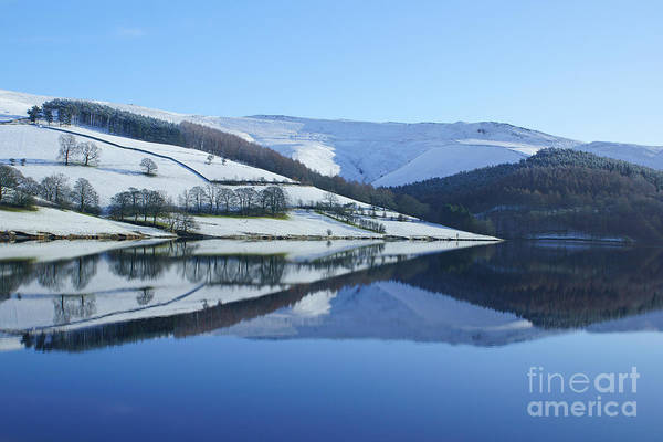 Photograph - Derwent Valley Reflections by David Birchall