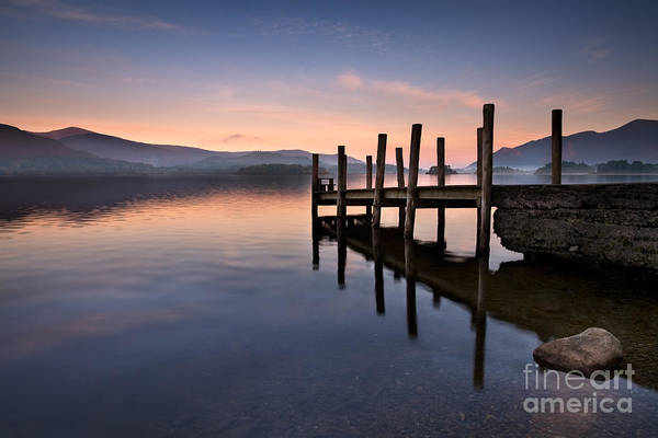 Wall Art - Photograph - Derwent Water Jetty by Rod McLean