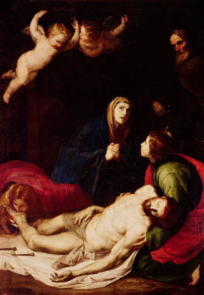 Wall Art - Painting - Descent From The Cross by Jusepe de Ribera