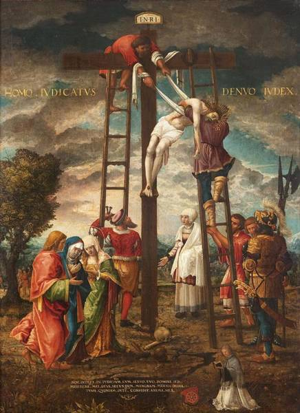 Wall Art - Photograph - Descent Of The Cross Oil On Panel by Hans Muelich or Mielich