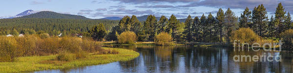 Wall Art - Photograph - Deschutes River Panorama by Twenty Two North Photography
