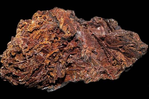 Lead Mine Wall Art - Photograph - Descloizite by Science Photo Library