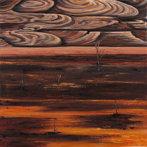 Painting - Desert Abstract by Darice Machel McGuire