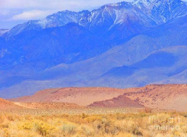 Bishop Hill Photograph - Desert Blues by Marilyn Diaz