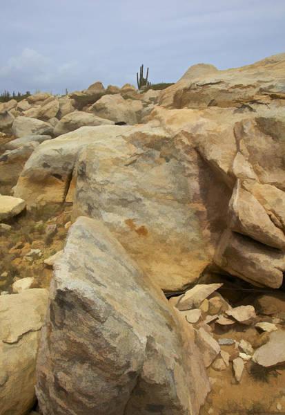 Photograph - Desert Boulders Of The Caribbean Island Of Aruba by David Letts
