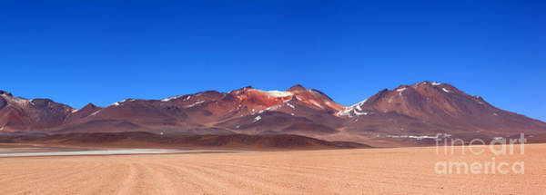 Photograph - Desert Colours Panoramic by James Brunker