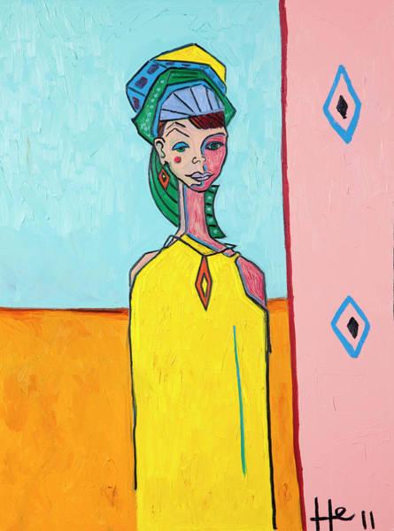 Rhea Painting - Desert Diamond by Hans Magden