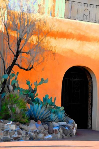 Wall Art - Photograph - Desert Doorway by Jan Amiss Photography