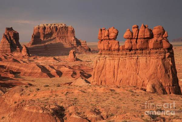 Goblin Valley State Park Photograph - Desert Goblins And Towers by Adam Jewell