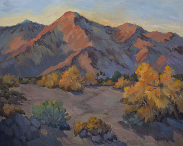 La Quinta Wall Art - Painting - Desert Gold by Diane McClary