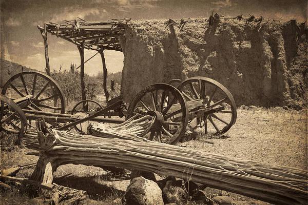Adobe Photograph - Desert Hacienda by Medicine Tree Studios